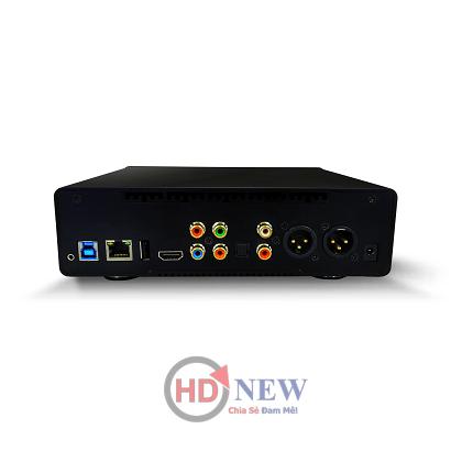 ES9018K2M SABRE32 Reference DAC trên đầu phát Dune Duo 4K và Popcorn Hour A500 Pro - HDnew Hà Nội