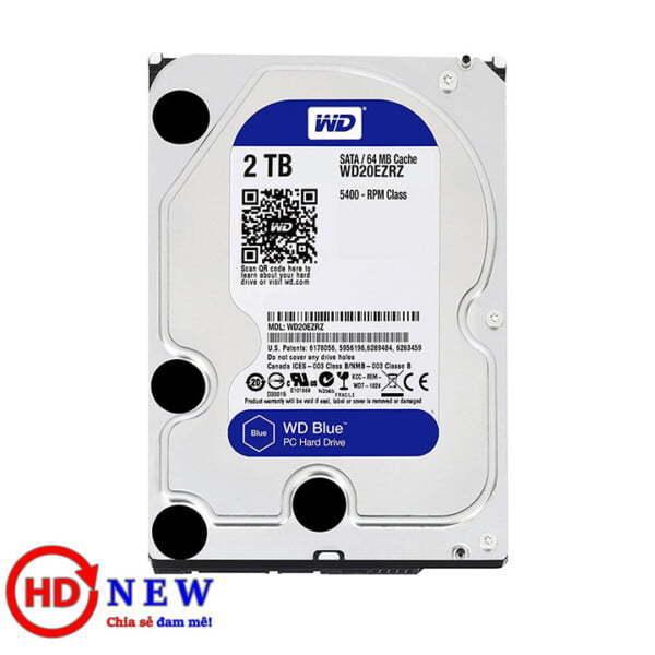 "Ổ cứng HDD Western Digital Caviar Blue 3.5"" WD20EZRZ 2TB | HDnew - Chia sẻ đam mê"