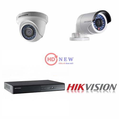 Bộ camera quan sát Hikvision HD-TVI 2MP – HDnew Hà Nội