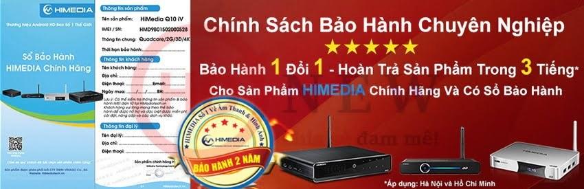 Chính sách bảo hành của HiMedia - HDnew Chia sẻ đam mê