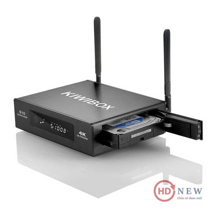 KiwiBox S10 - Android Box chính hãng - HDnew Hà Nội
