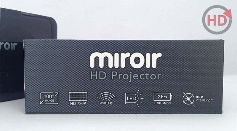 Máy chiếu mini di động Miroir MP150W - HDnew Hà Nội