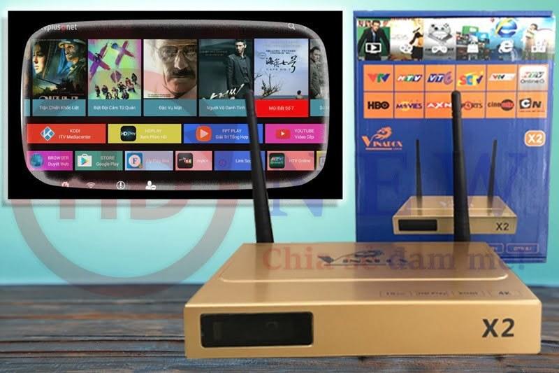 VinaBox X2 hàng công ty, giá hấp dẫn - HDnew Hà Nội