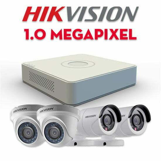 Bộ camera quan sát Hikvision HD-TVI 1MP | HDnew - Chia sẻ đam mê