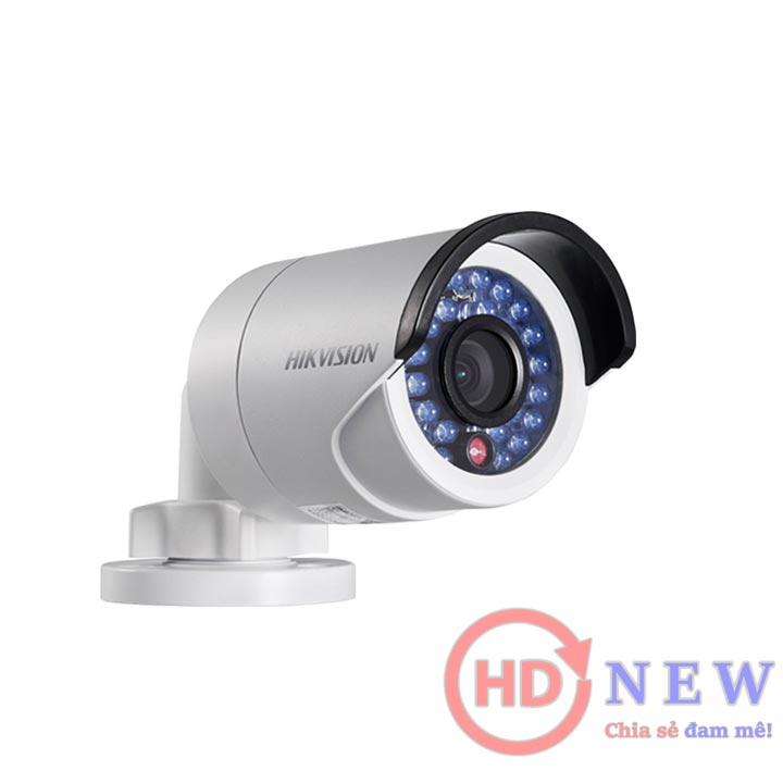 Hikvision DS-2CE16C0T-IRP - camera thân trụ 1MP, hồng ngoại 20m | HDnew - Chia sẻ đam mê