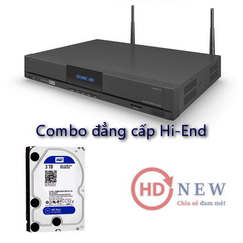 Combo Dune Duo 4K và ổ cứng - đẳng cấp giải trí Hi-End ngay tại gia đình - HDnew Hà Nội