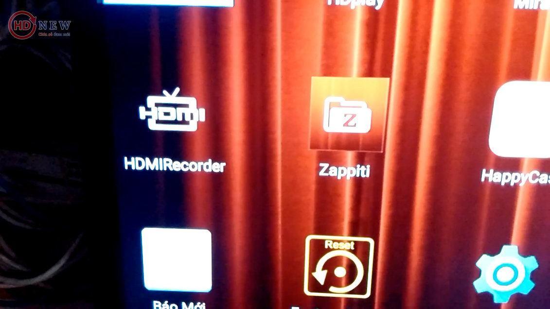 Tính năng HDMI Record trên đầu phát Zappiti Duo 4K - HDnew Hà Nội