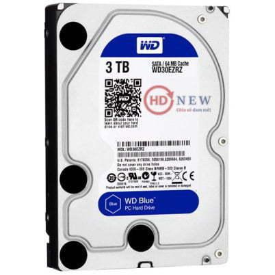 "Ổ cứng HDD Western Digital Caviar Blue 3.5"" WD30EZRZ 3TB - HDnew Hà Nội"