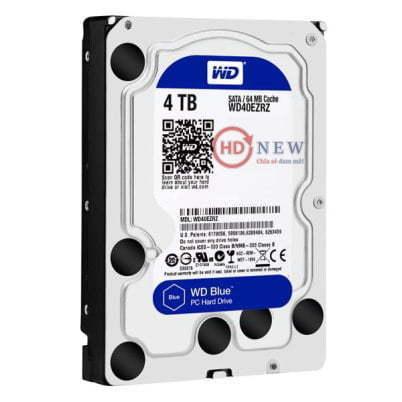 "Ổ cứng HDD Western Digital Caviar Blue 3.5"" WD40EZRZ 4TB - HDnew Hà Nội"