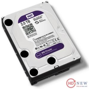 "Ổ cứng HDD Western Digital Purple 3.5"" WD20PURX 2TB - HDnew Hà Nội"