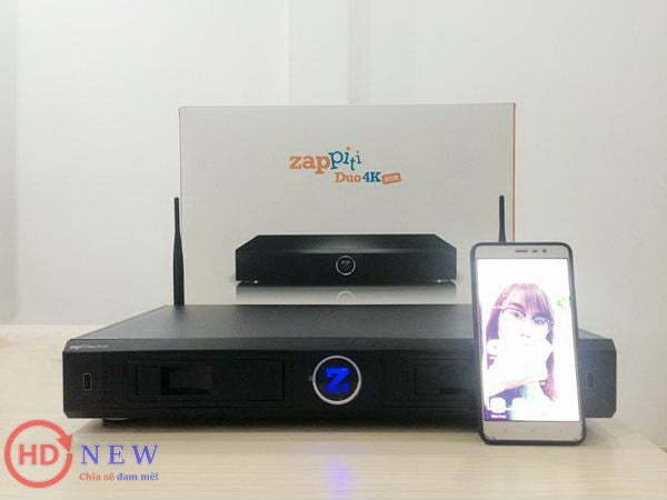 Đánh giá đầu phát Zappiti Duo 4K - HDnew Hà NộiĐánh giá đầu phát Zappiti Duo 4K - HDnew Hà Nội