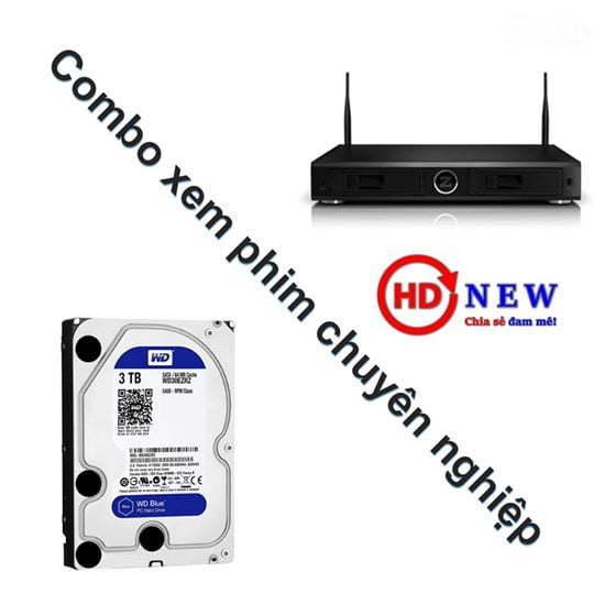 Combo Zappiti Duo 4K và ổ cứng HDD - Thoải mái thưởng thức bom tấn tại gia đình - HDnew Hà Nội