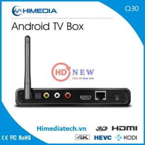 HiMedia Q30 | Android TV Box CPU 4 nhân, RAM 2GB, Android 7 | HDnew - Chia sẻ đam mê