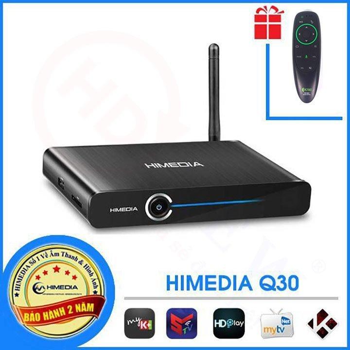 HiMedia Q30   Android TV Box CPU 4 nhân, RAM 2GB, Android 7   HDnew - Chia sẻ đam mê