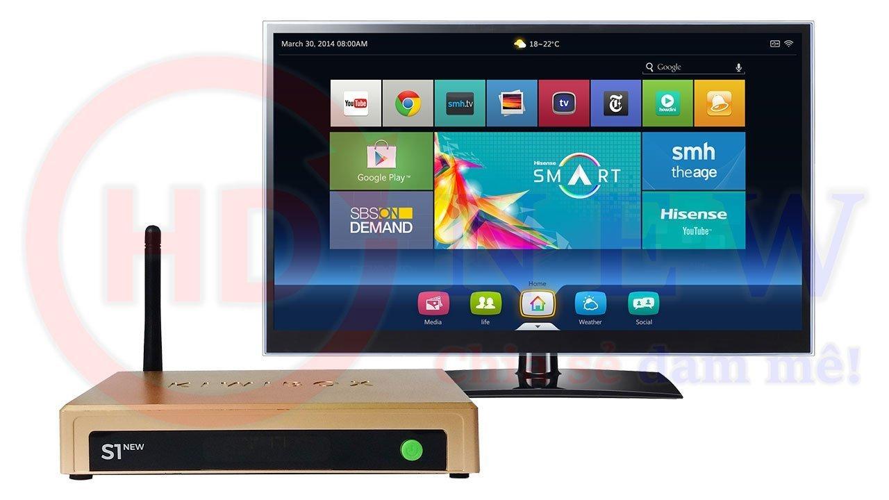 Kiwibox S1 New, vị vua mới của phân khúc Android TV Box giá rẻ - HDnew Hà Nội