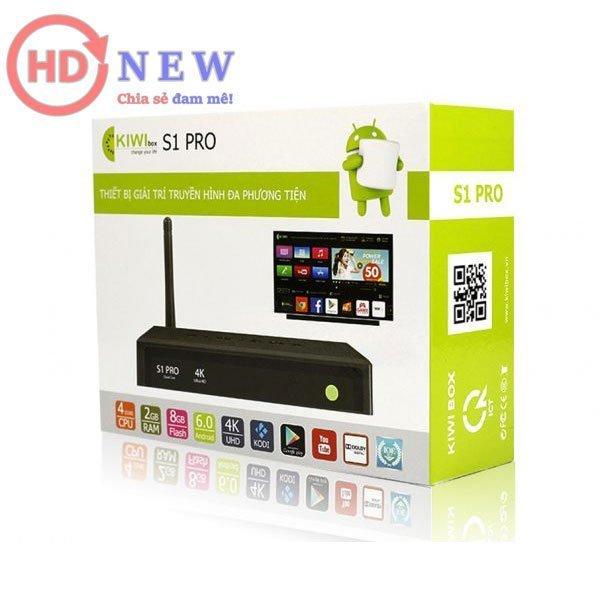 Kiwibox S1 Pro - Thách thức mọi giới hạn giải trí - HDnew Hà Nội