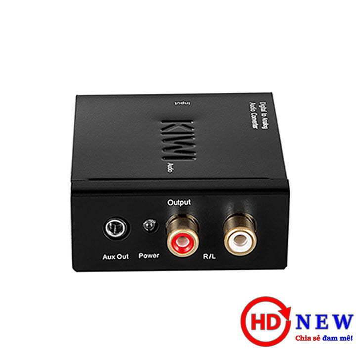 Bộ chuyển đổi âm thanh Digital sang Analog KA-02 | HDnew - Chia sẻ đam mê