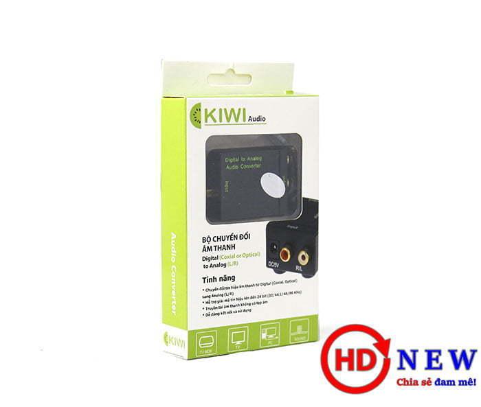 Bộ chuyển đổi âm thanh từ Optical sang Analog KA-01 | HDnew - Chia sẻ đam mê