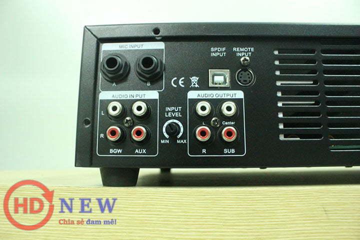 Vang liền công suất CARD DSP-K350, công suất 350W | HDnew - Chia sẻ đam mê