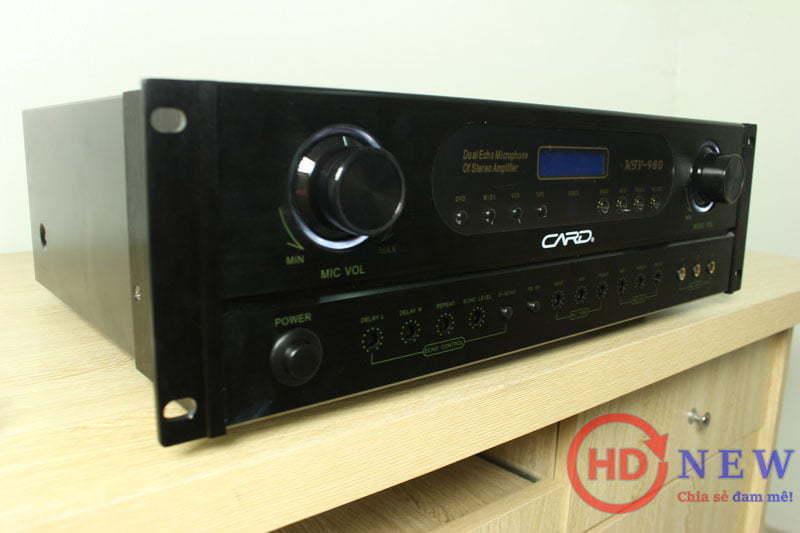 Vang liền công suất CARD KTV-980 - Hơn cả một chiếc amply | HDnew - Chia sẻ đam mê