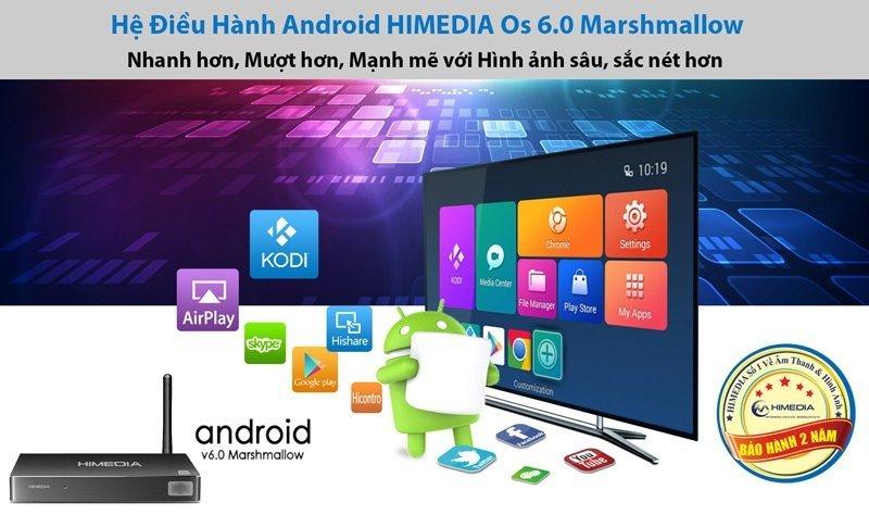HiMedia Siêu Phẩm Android Box  đáng mua nhất 2018