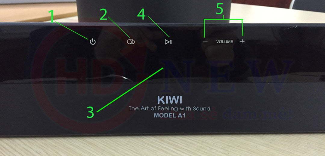 Loa soundbar kèm sub Kiwi A1 - Chất lượng âm thanh tuyệt đỉnh | HDnew - Chia sẻ đam mê