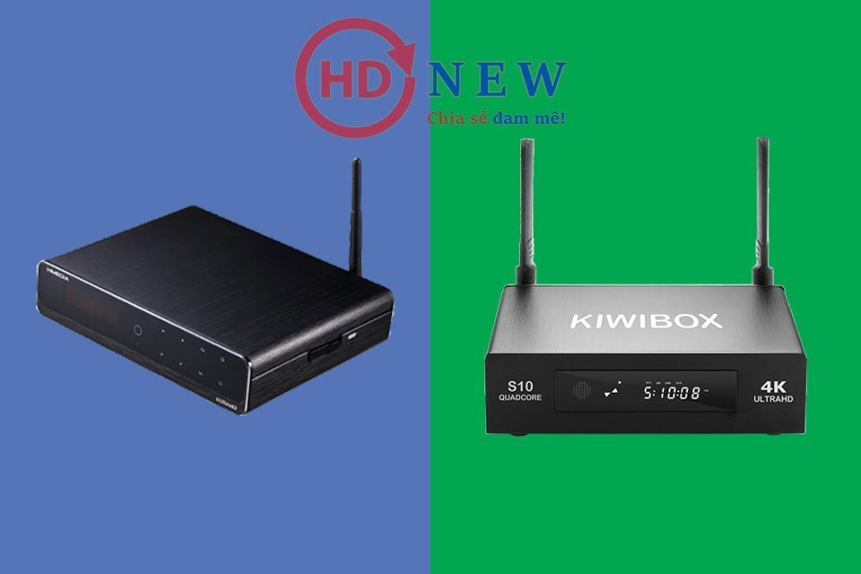 So sánh Android TV Box HiMedia Q10 Pro và KiwiBox S10