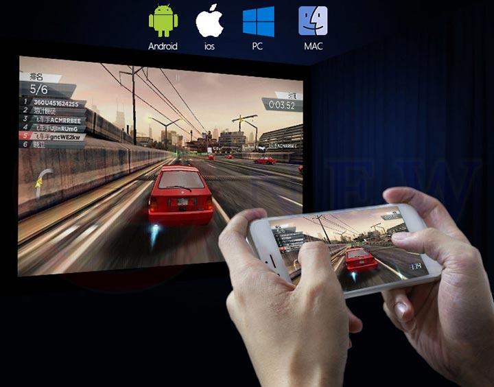 Máy chiếu Android thông minh di động Tyco D1600 | HDnew - Chia sẻ đam mê