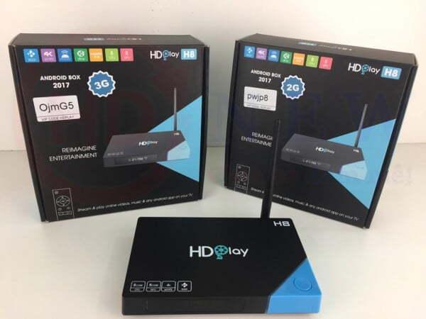 Android TV Box HDPlay H8 (bản 3GB RAM) | HDnew - Chia sẻ đam mê