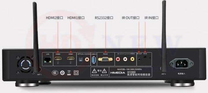 Himedia H1000 - Thiết bị giải trí chất lượng cao, cấu hình khủng | HDnew - Chia sẻ đam mê