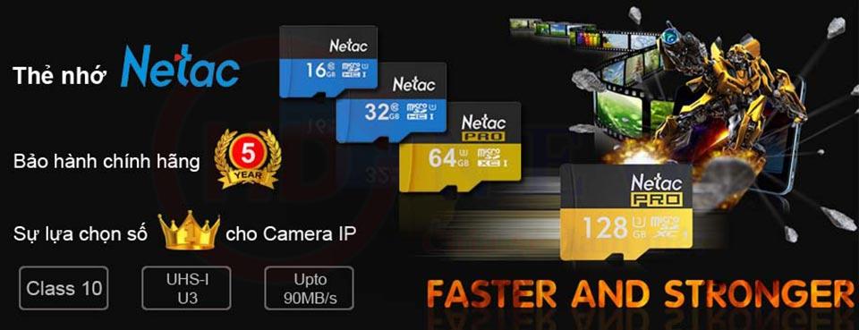 Thẻ nhớ Netac P500 microSDHC/microSDXC 32GB/64GB/128GB | HDnew - Chia sẻ đam mê