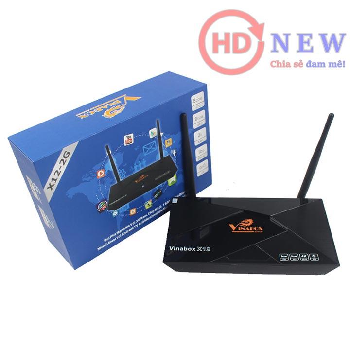 VinaBox X12 phiên bản 2GB RAM | HDnew - Chia sẻ đam mê