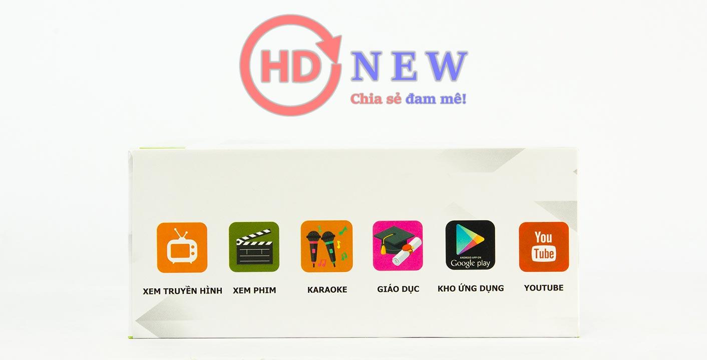 KiwiBox T+ - Android Box tích hợp DVB-T2, chuẩn 4K sắc nét | HDnew - Chia sẻ đam mê