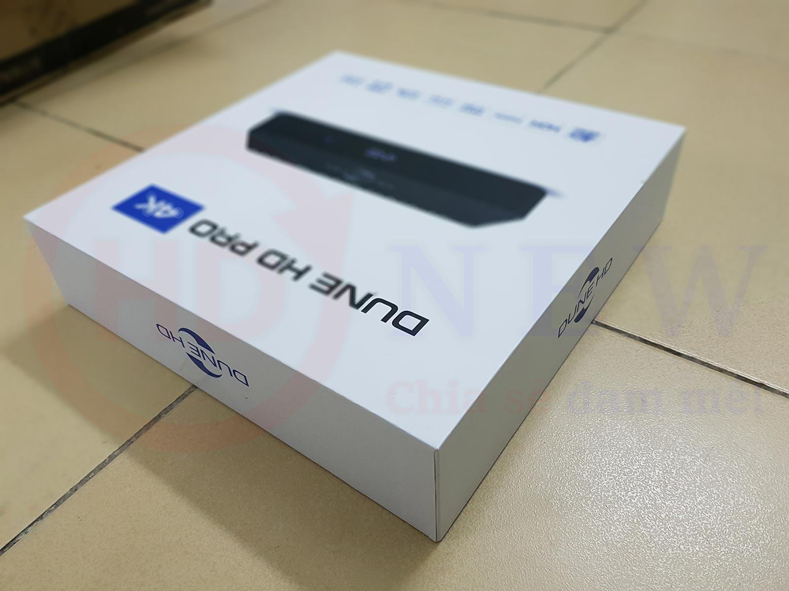 Mở hộp và trải nghiệm Dune HD Pro 4K | HDnew - Chia sẻ đam mê