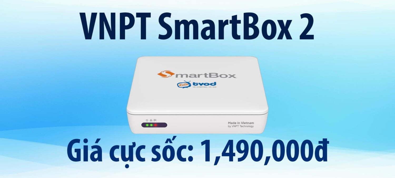 Ưu đãi giá sốc dành cho VNPT SmartBox 2 | HDnew - Chia sẻ đam mê
