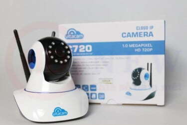 Vitacam C720 - Camera Wi-Fi HD 720p đa chức năng   HDnew - Chia sẻ đam mê