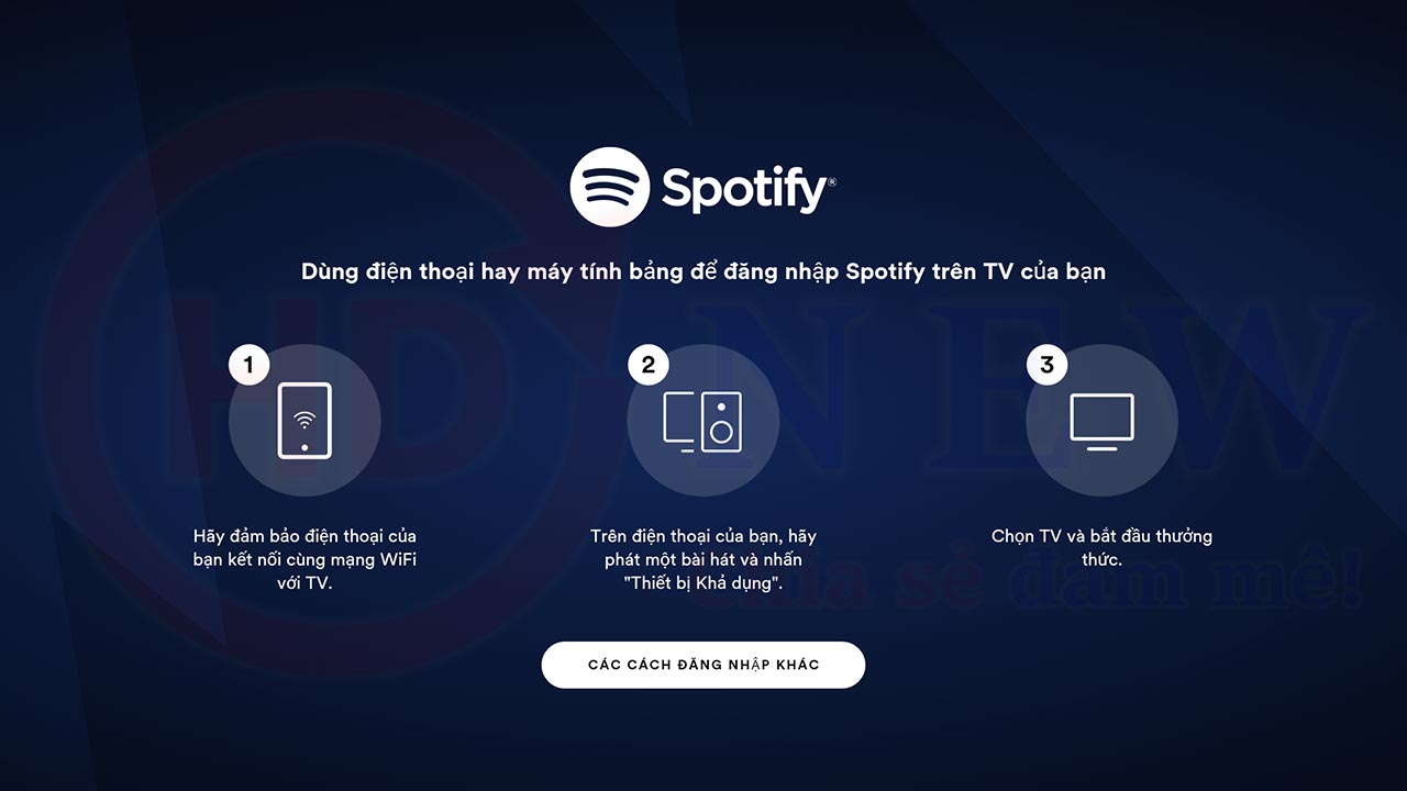 Hướng dẫn cài đặt Spotify cho Android TV Box | HDnew - Chia sẻ đam mê