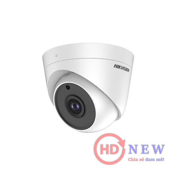 Hikvision DS-2CE56H0T-ITPF - camera bán cầu 5MP, hồng ngoại 20m | HDnew Camera