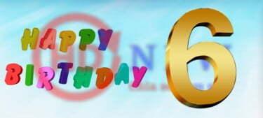Mừng sinh nhật 6 năm | HDnew - Chia sẻ đam mê