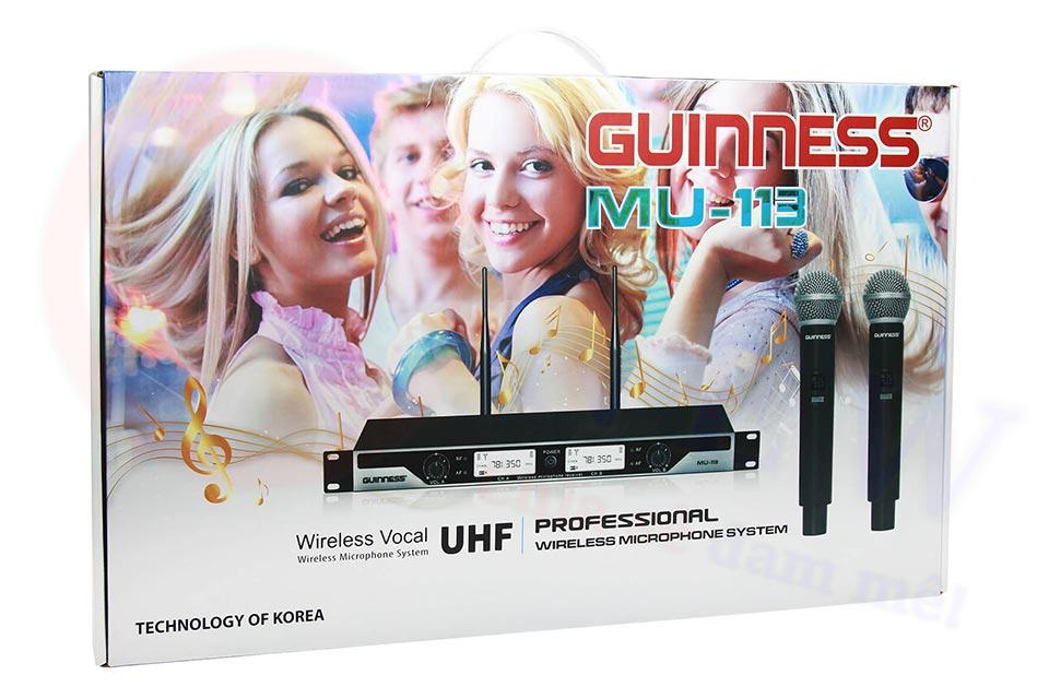 Micro Karaoke Guinness MU-113 | HDnew - Chia sẻ đam mê