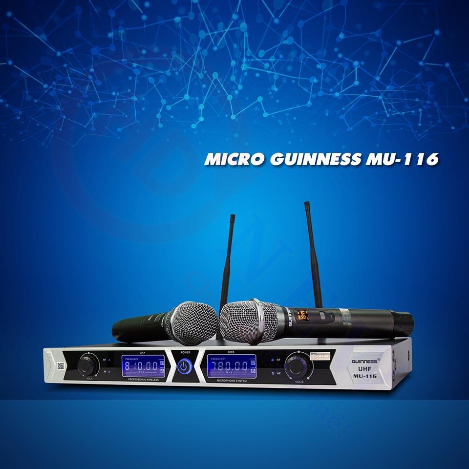 Micro Karaoke Guinness MU-116 | HDnew - Chia sẻ đam mê