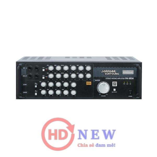 Amply Karaoke Jarguar PA-503A | HDnew - Chia sẻ đam mê