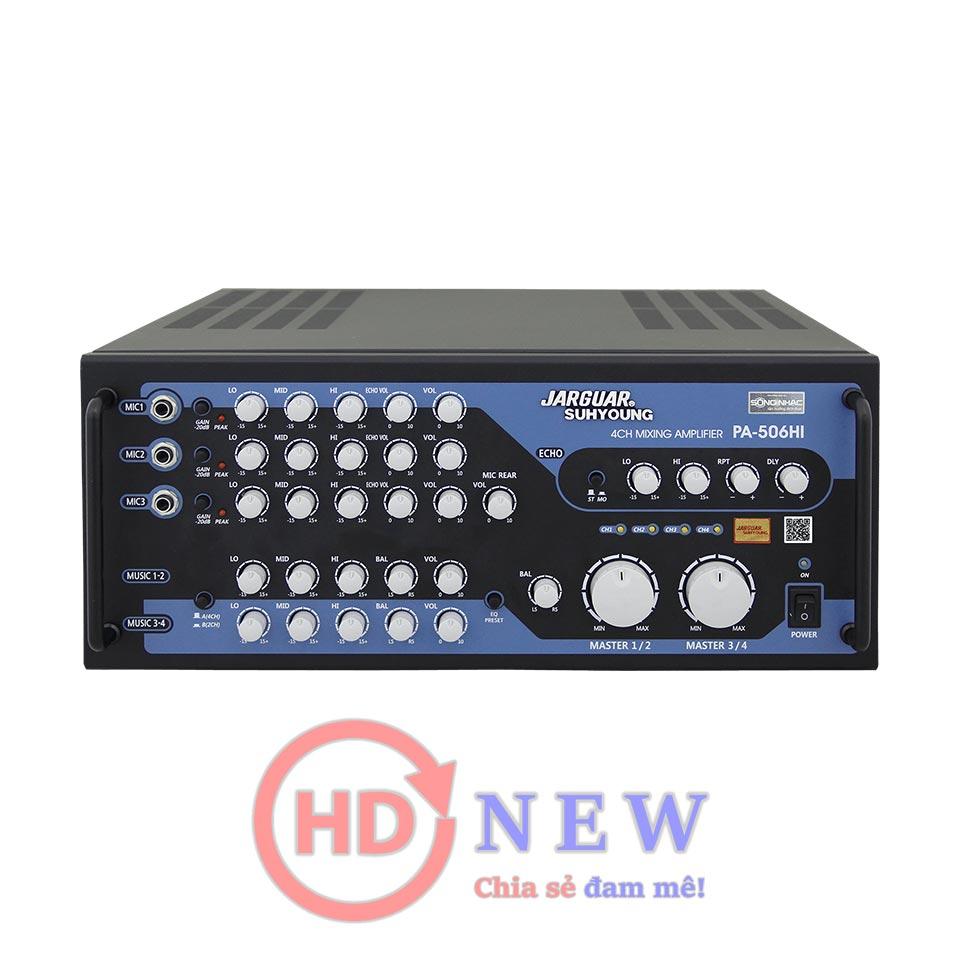 Amply Karaoke Jarguar PA-506HI | HDnew - Chia sẻ đam mê
