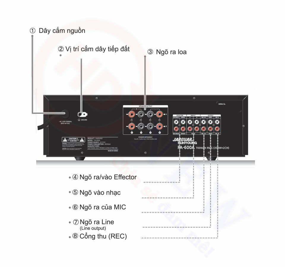 Amply Karaoke Jarguar PA-600A | HDnew - Chia sẻ đam mê