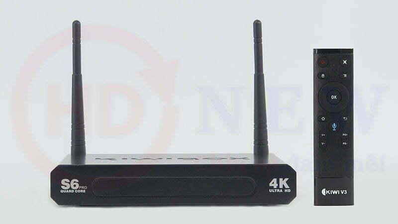 KiwiBox S6 Pro - 2GB RAM, cấu hình mạnh mẽ | HDnew - Chia sẻ đam mê