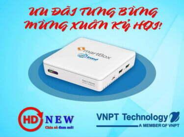 Ưu đãi tưng bừng - Mừng xuân Kỷ Hợi cùng VNPT SmartBox 2 | HDnew - Chia sẻ đam mê