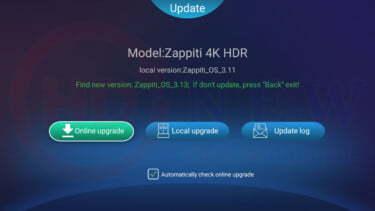 Firmware 3.13 dành cho Zappiti One SE / Zappiti Duo 4K HDR | HDnew - Chia sẻ đam mê
