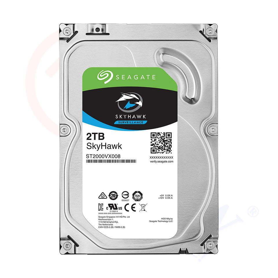 Ổ cứng Seagate SkyHawk 2TB (ST2000VX008) | HDnew - Chia sẻ đam mê
