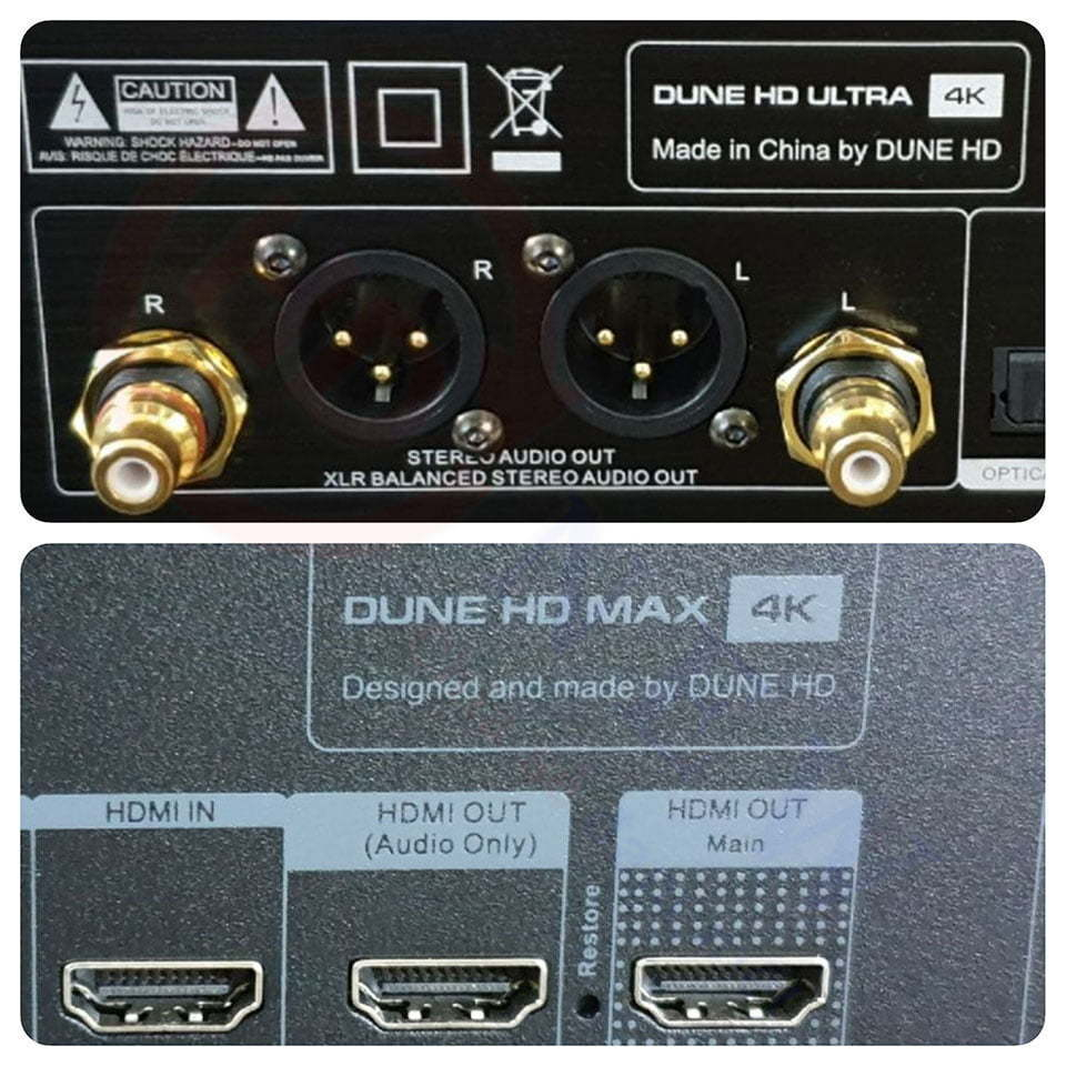 Dune HD Ultra 4K vs Dune HD Max 4K   HDnew - Chia sẻ đam mê