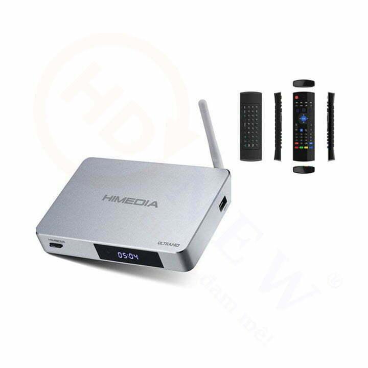Trọn bộ Đầu HiMedia Q5 Pro và Chuột bay KM800 | HDnew - Chia sẻ đam mê